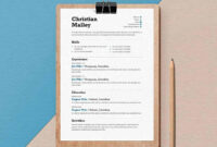 15+ Resume Templates For Word (Free To Download) With Regard To How To Get A Resume Template On Word