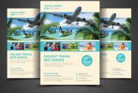 15+ Travel & Tourism Flyer Psd Templates | Tourism Flyers with Travel And Tourism Brochure Templates Free