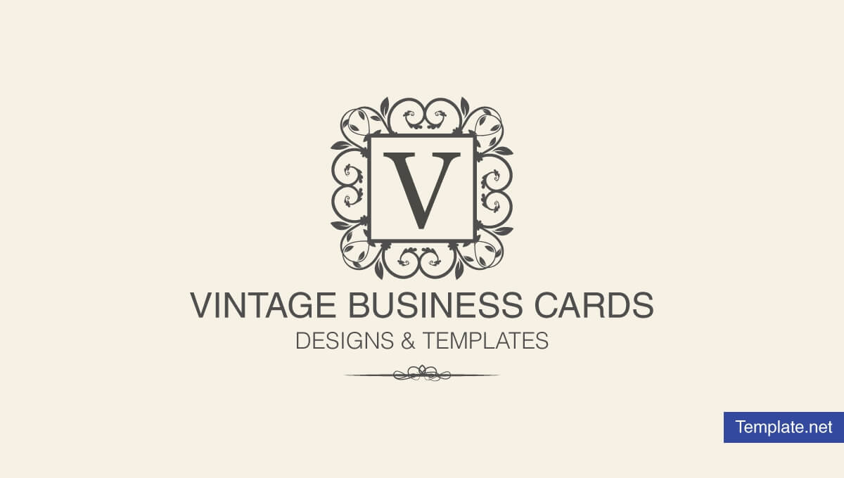 15+ Vintage Business Card Templates - Ms Word, Photoshop pertaining to Free Business Cards Templates For Word