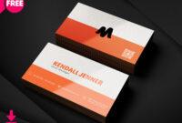 150+ Free Business Card Psd Templates with regard to Business Card Template Photoshop Cs6