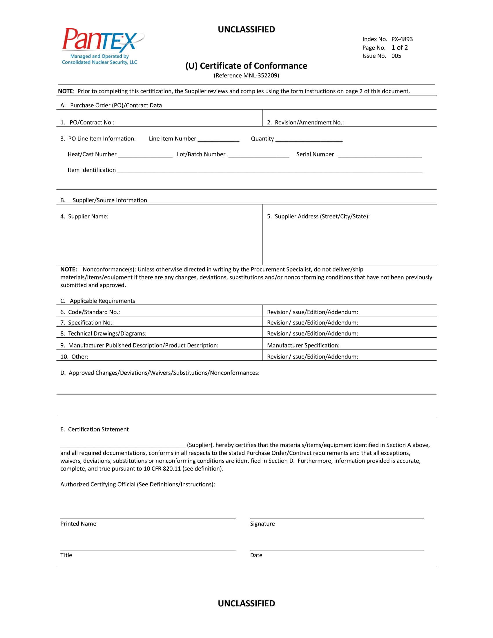16+ Certificate Of Conformance Example - Pdf, Word, Ai pertaining to Certificate Of Manufacture Template