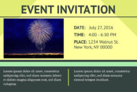 16 Free Invitation Card Templates & Examples – Lucidpress with Event Invitation Card Template