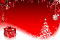 16 Free Psd Christmas Templates For Photoshop Images – Free regarding Free Christmas Card Templates For Photoshop