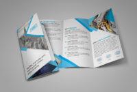 16 Tri-Fold Brochure Free Psd Templates: Grab, Edit & Print throughout Free Three Fold Brochure Template