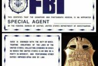 17 Id Badge Template Images – Id Badge Template Microsoft inside Spy Id Card Template