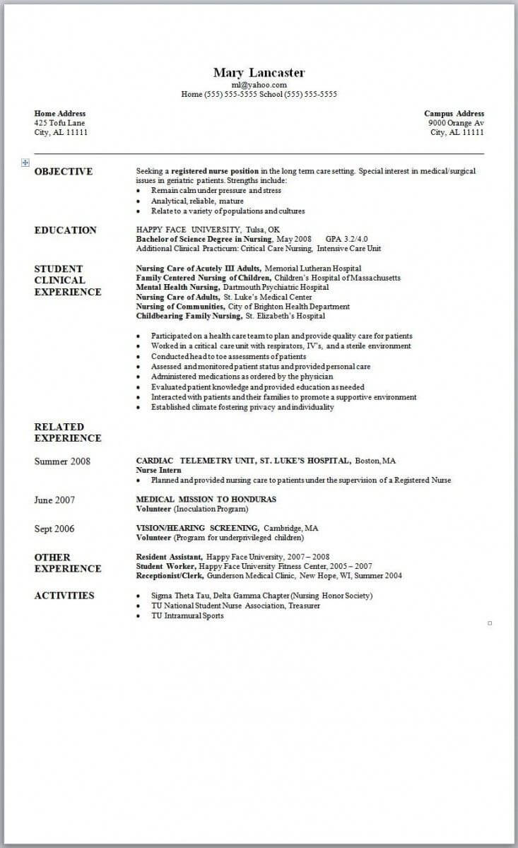17 Resume Templates Free Download Word 2007 | Resume Inside Resume Templates Word 2007