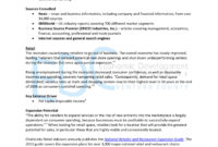 18+ Market Analysis Examples – Pdf, Word, Pages | Examples Inside Industry Analysis Report Template