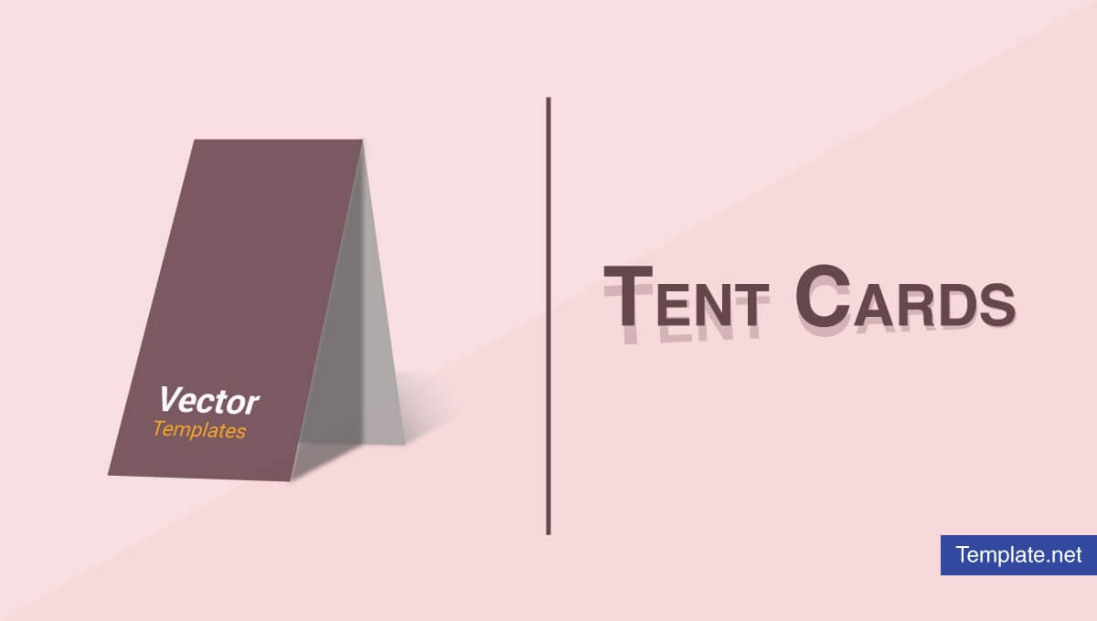 18+ Tent Card Designs & Templates - Ai, Psd, Indesign | Free for Free Tent Card Template Downloads