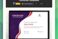 19 Attention-Grabbing Certificate Templates – Colorlib pertaining to No Certificate Templates Could Be Found