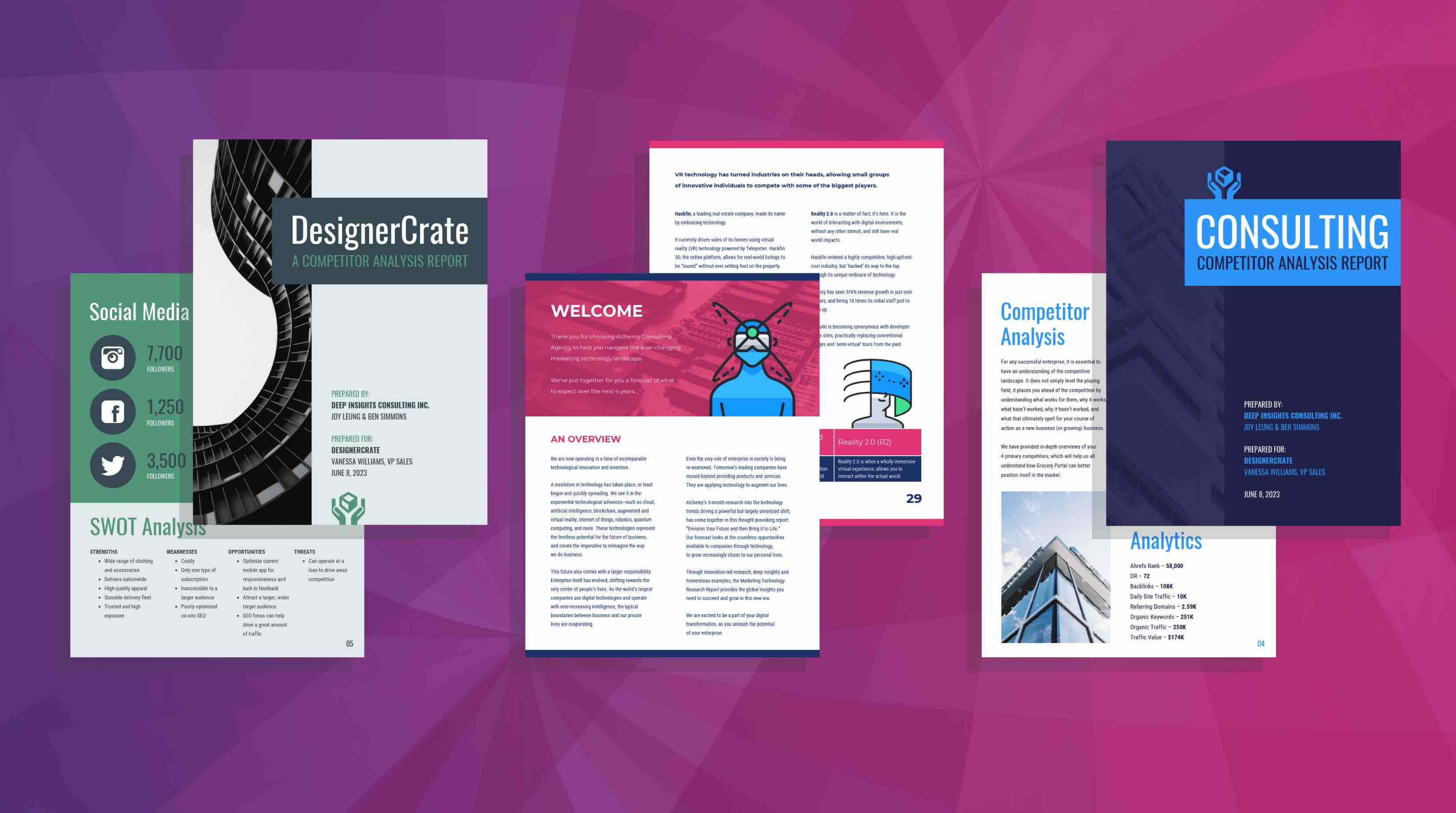 19 Consulting Report Templates That Every Consultant Needs With Market Intelligence Report Template