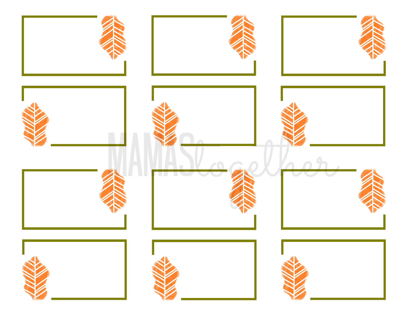 19 Elegant & Fun Printable Place Cards | Kittybabylove pertaining to Christmas Table Place Cards Template