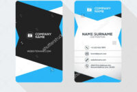2 Sided Business Card Template Word – Caquetapositivo intended for 2 Sided Business Card Template Word