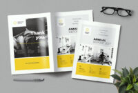 20+ Annual Report Templates (Word & Indesign) 2018 throughout Annual Report Template Word