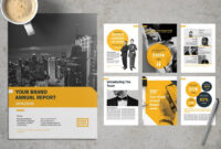 20+ Annual Report Templates (Word & Indesign) 2019 – Do A with Annual Report Template Word