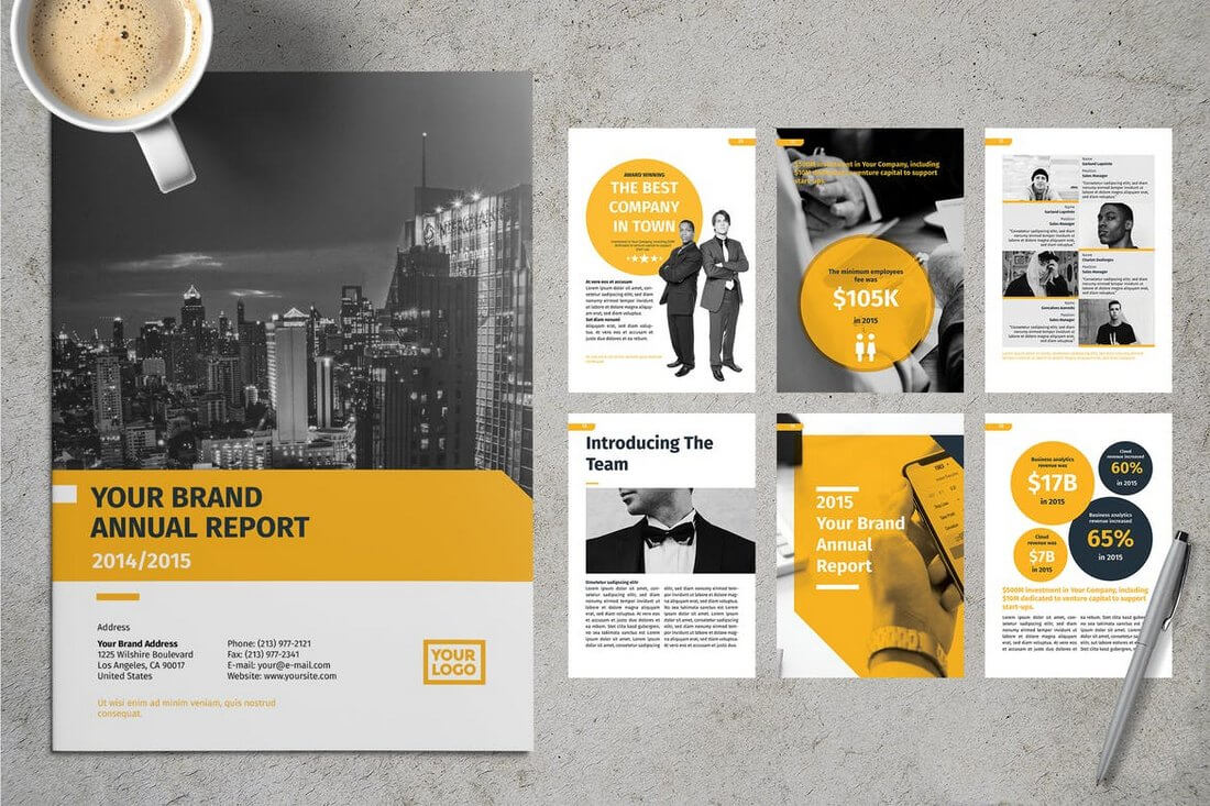 20+ Annual Report Templates (Word & Indesign) 2019 - Do A With Annual Report Template Word