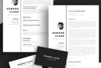 20 Best Free Pages & Ms Word Resume Templates For Mac (2019) with Pages Business Card Template