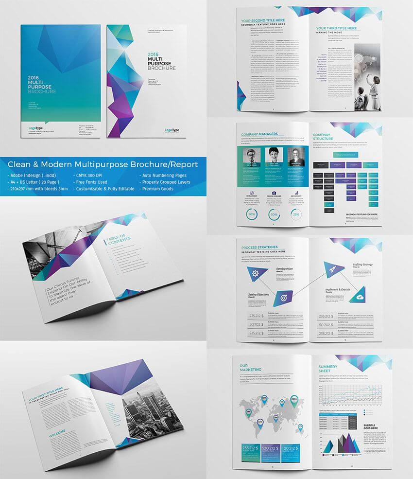 20 Best #indesign Brochure Templates - Creative Business With Adobe Indesign Brochure Templates