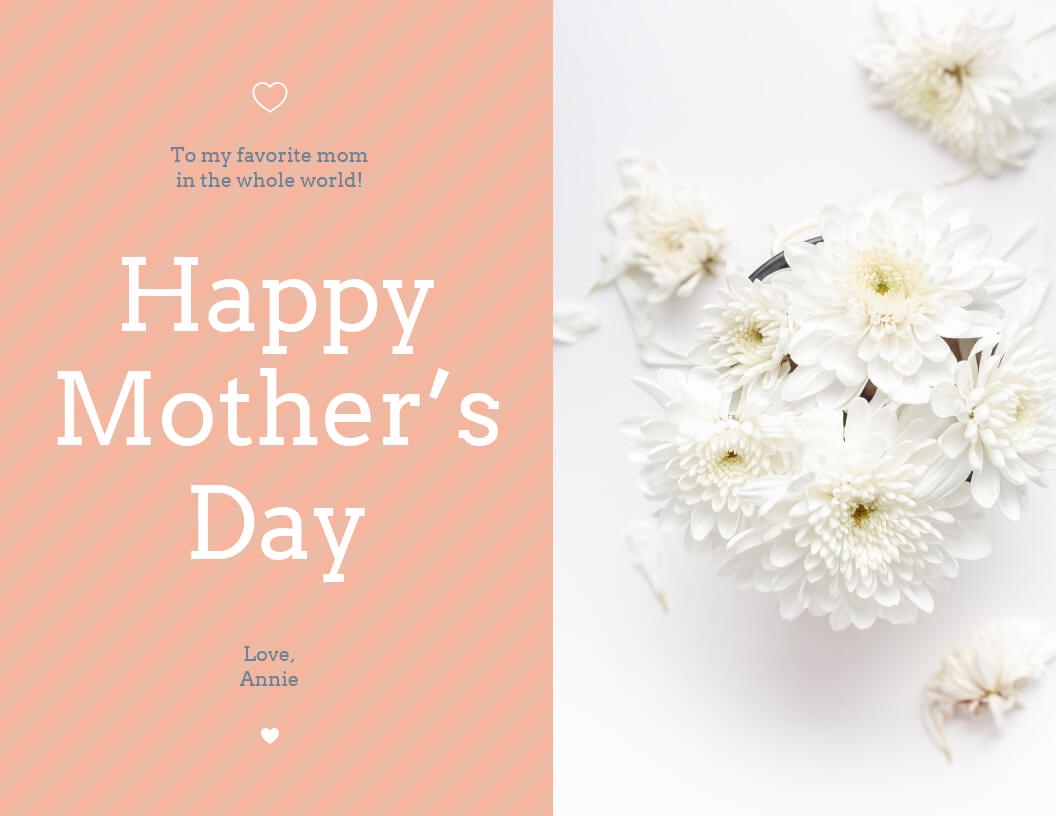 20+ Creative Mother's Day Card Templates [Plus Design Tips in Mothers Day Card Templates