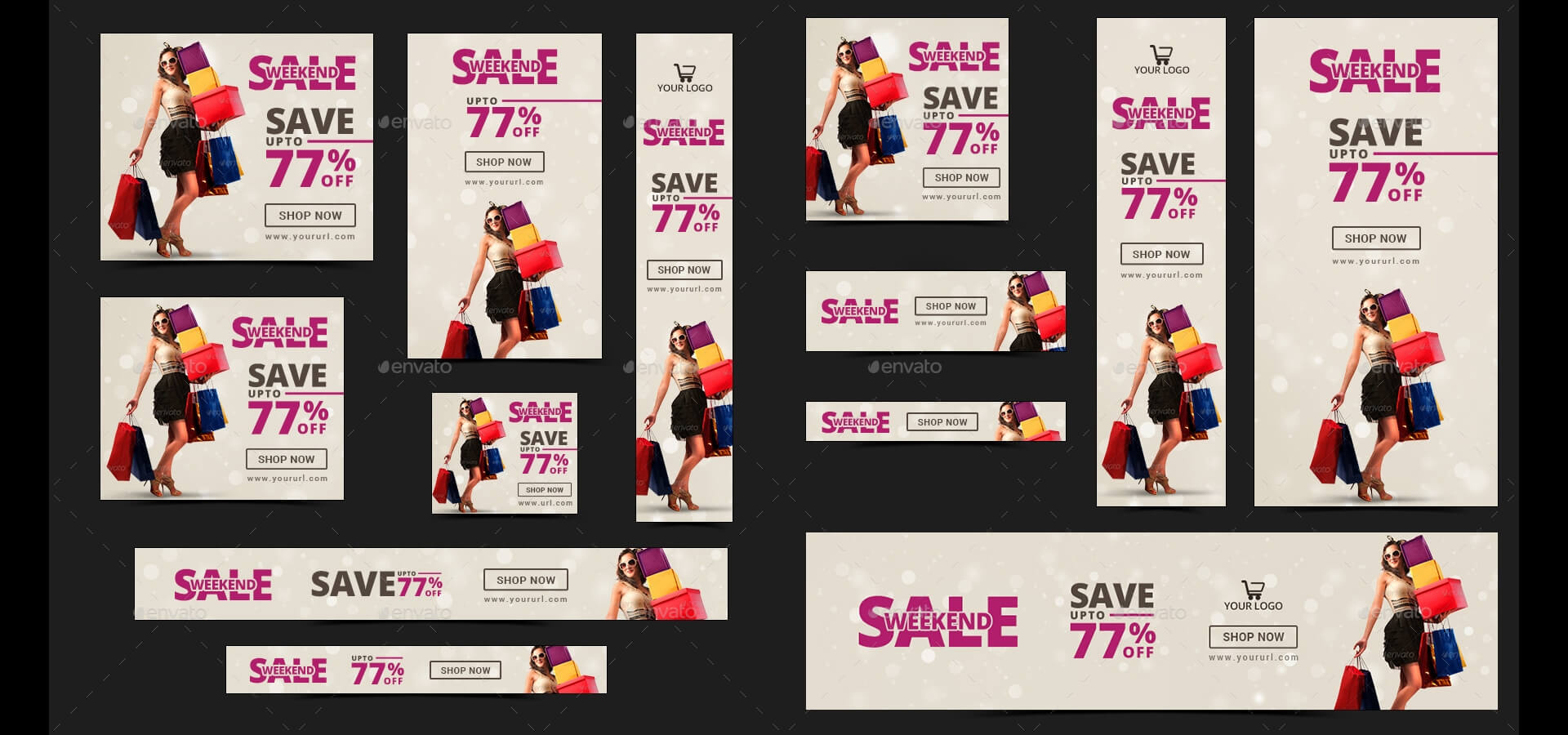 20 + Printable Product Sale Banners - Psd, Ai, Eps Vector For Product Banner Template