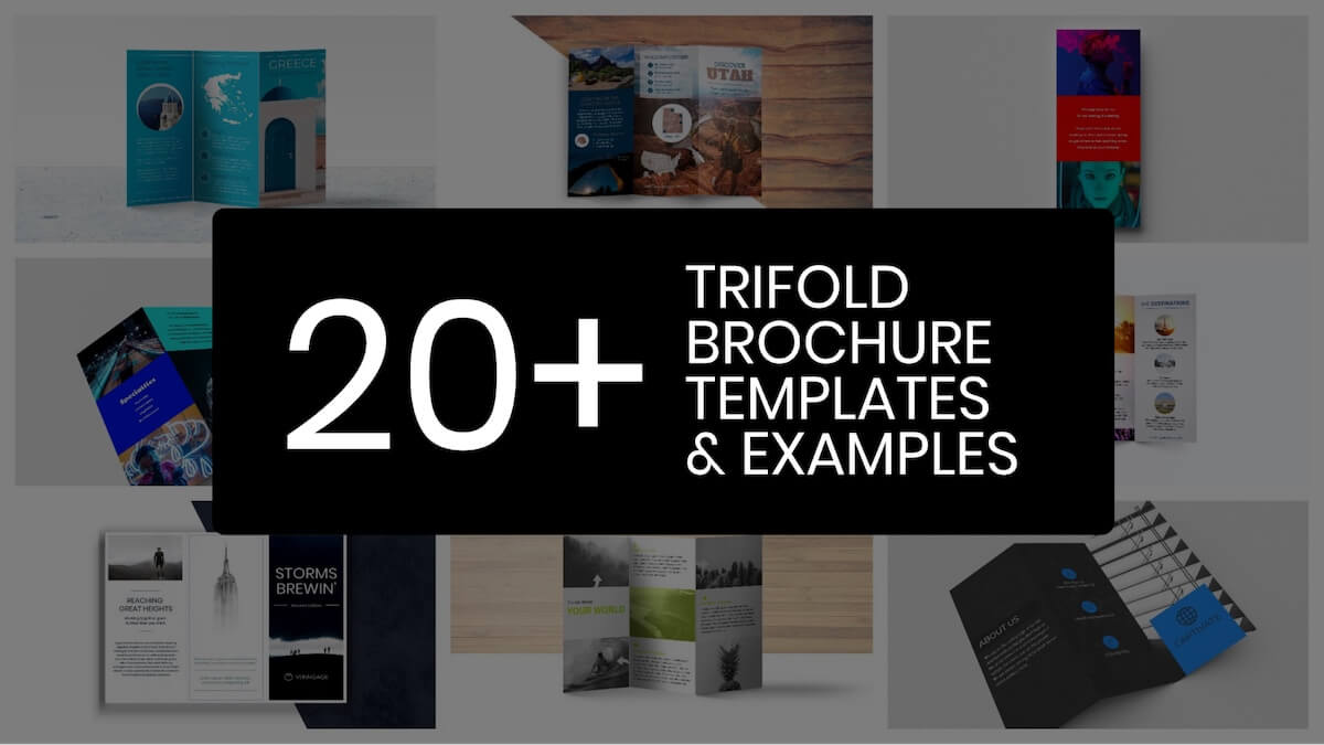 20+ Professional Trifold Brochure Templates, Tips & Examples for 6 Panel Brochure Template