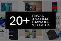 20+ Professional Trifold Brochure Templates, Tips & Examples regarding Double Sided Tri Fold Brochure Template