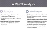20+ Swot Analysis Templates, Examples & Best Practices within Strategic Analysis Report Template