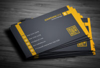 200 Free Business Cards Psd Templates – Creativetacos in Free Bussiness Card Template