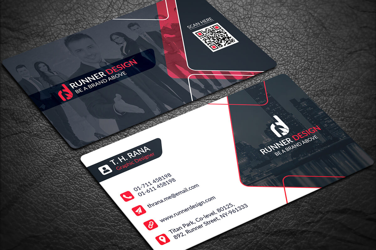200 Free Business Cards Psd Templates - Creativetacos In Visiting Card Templates Psd Free Download