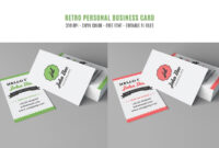 200 Free Business Cards Psd Templates – Creativetacos throughout Free Personal Business Card Templates