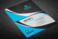 200 Free Business Cards Psd Templates – Creativetacos with Calling Card Psd Template