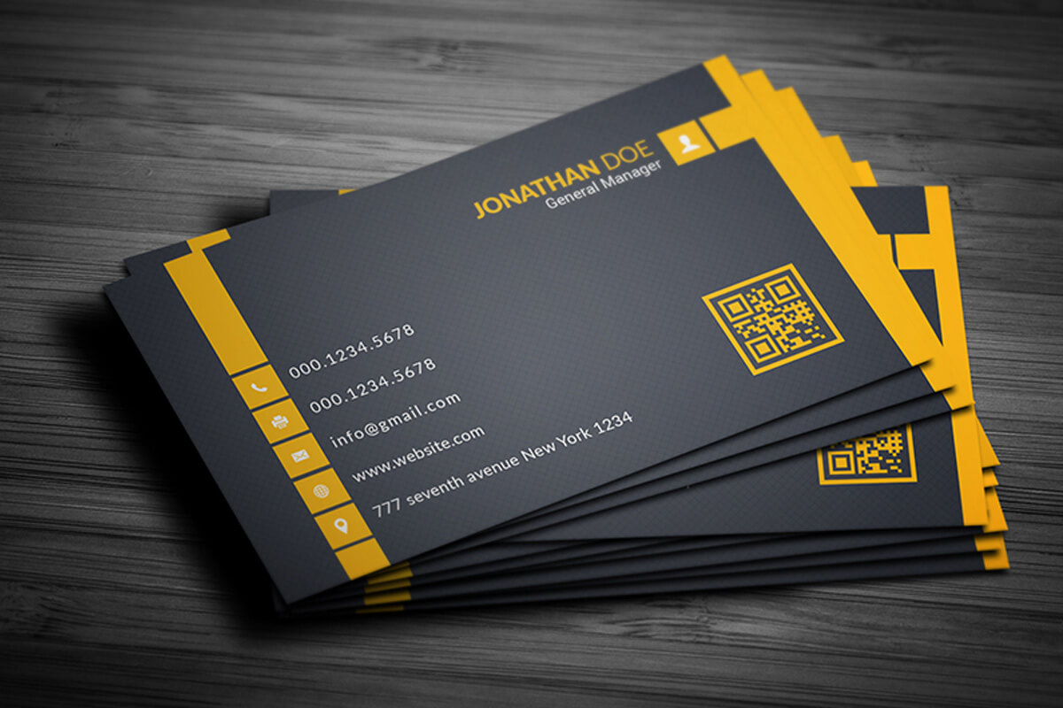 200 Free Business Cards Psd Templates - Creativetacos With Free Complimentary Card Templates