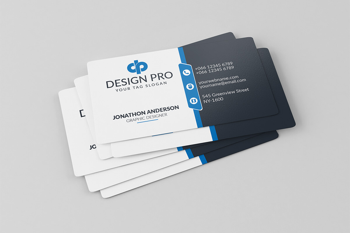 200 Free Business Cards Psd Templates – Creativetacos Within Visiting Card Template Psd Free Download