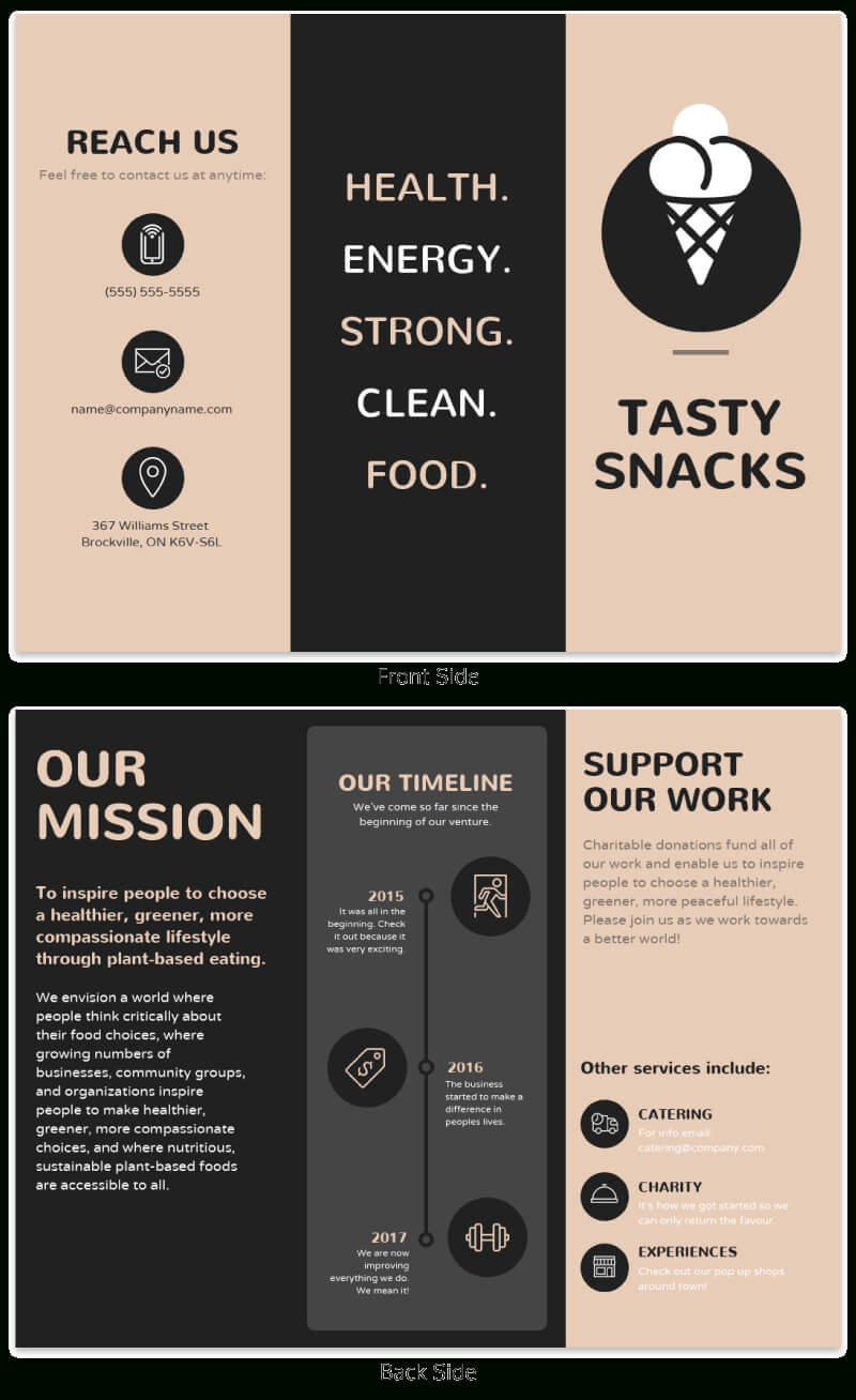 21 Brochure Templates And Design Tips To Promote Your in Good Brochure Templates