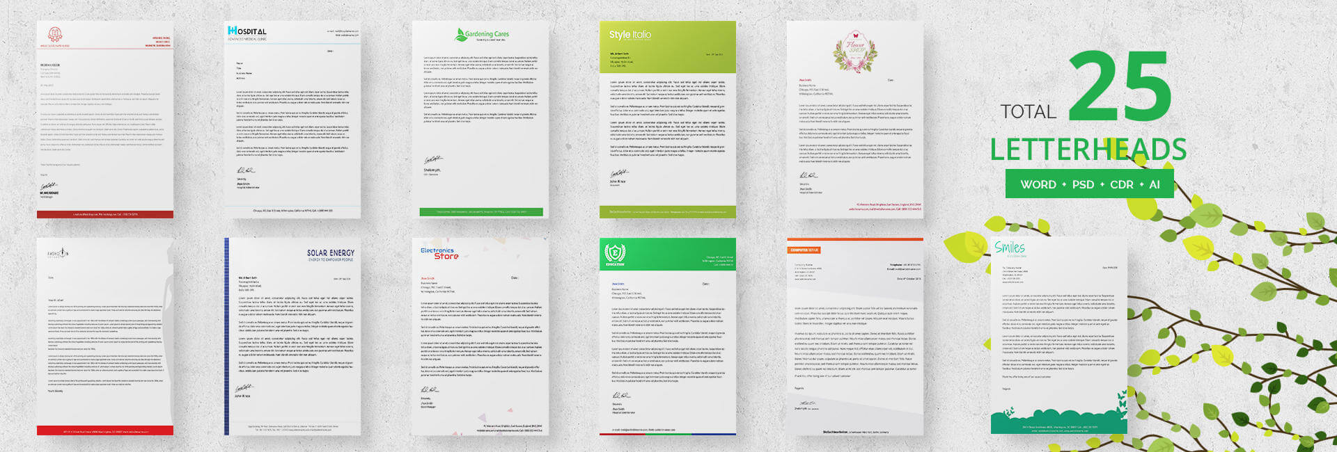 24+ Free Letter Head Templates - Education, Architecture in Headed Letter Template Word