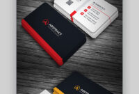 24 Premium Business Card Templates (In Photoshop throughout Double Sided Business Card Template Illustrator
