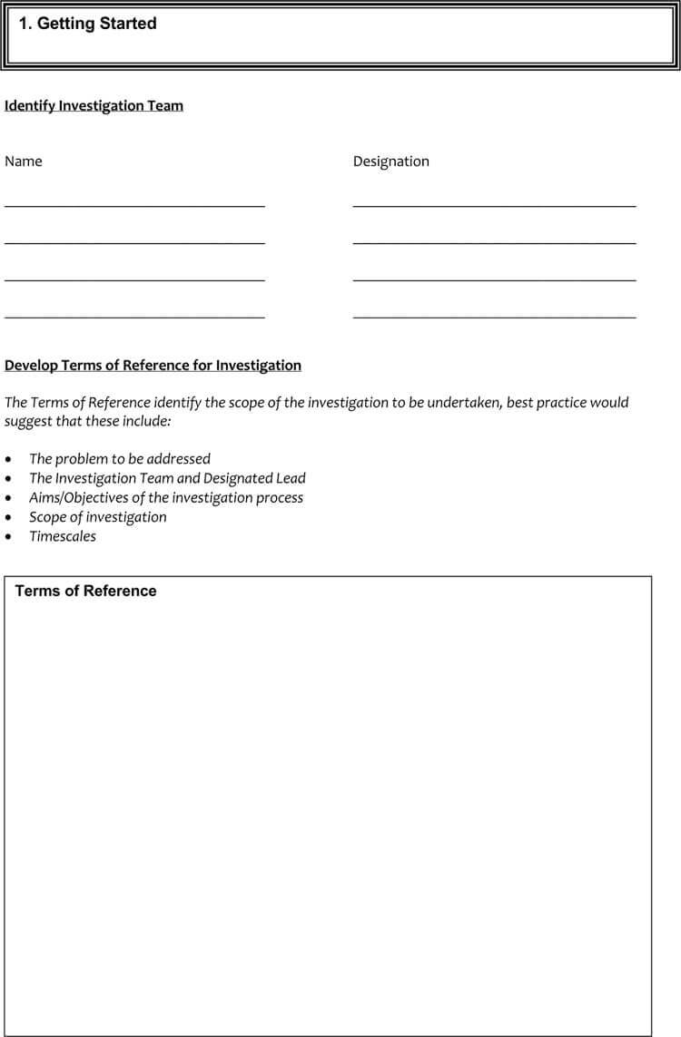 24+ Root Cause Analysis Templates (Word, Excel, Powerpoint With Regard To Failure Investigation Report Template