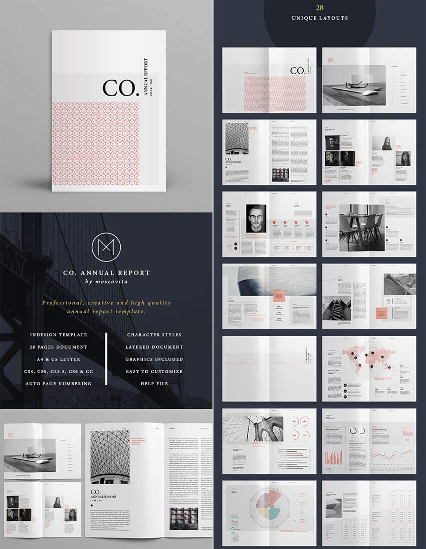 25+ Best Annual Report Templates - With Creative Indesign Inside Free Annual Report Template Indesign