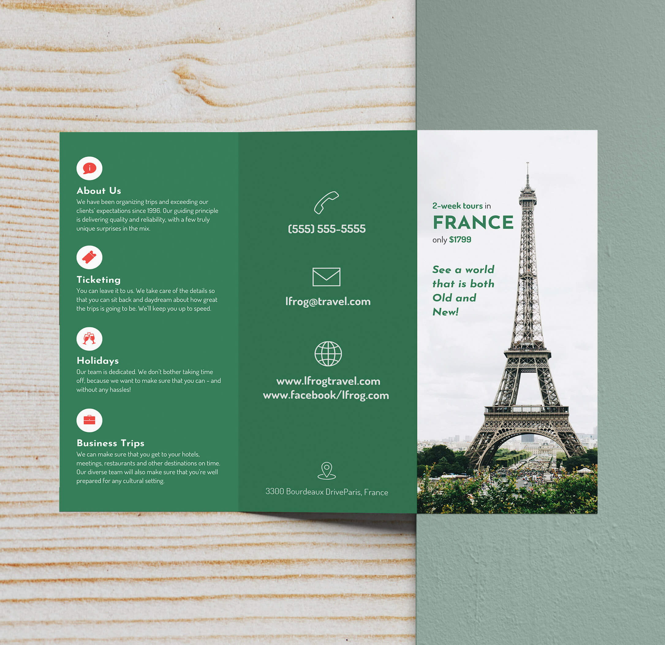 25+ Trifold Brochure Examples To Inspire Your Design in Good Brochure Templates