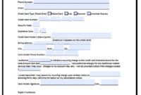 27 Gallery Ideas Of Credit Card Application Form Template with regard to Credit Card Payment Form Template Pdf