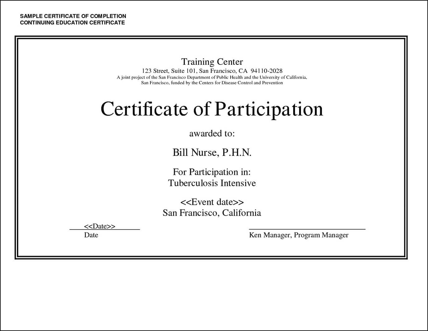 27 Images Of Adult Education Certificate Template | Masorler pertaining to Ceu Certificate Template