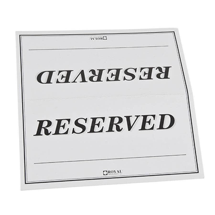 27 Images Of College Table Signs Template | Masorler with regard to Reserved Cards For Tables Templates