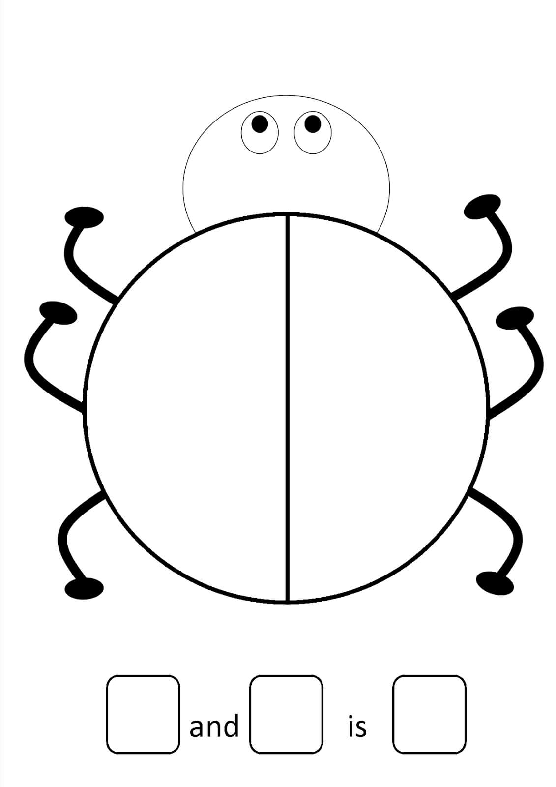 27 Images Of Large Ladybug Template Free | Zeept With Regard To Blank Ladybug Template