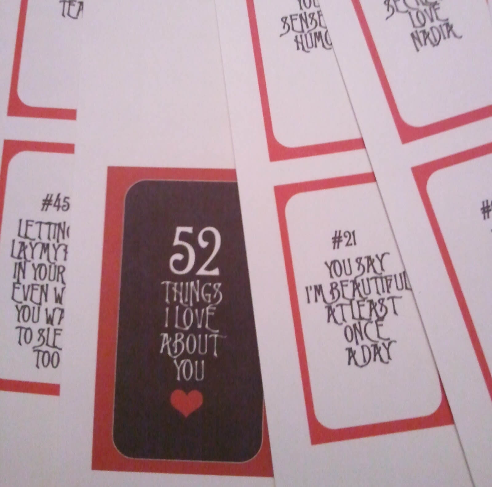 28 Images Of 52 Things Template | Vanscapital regarding 52 Reasons Why I Love You Cards Templates