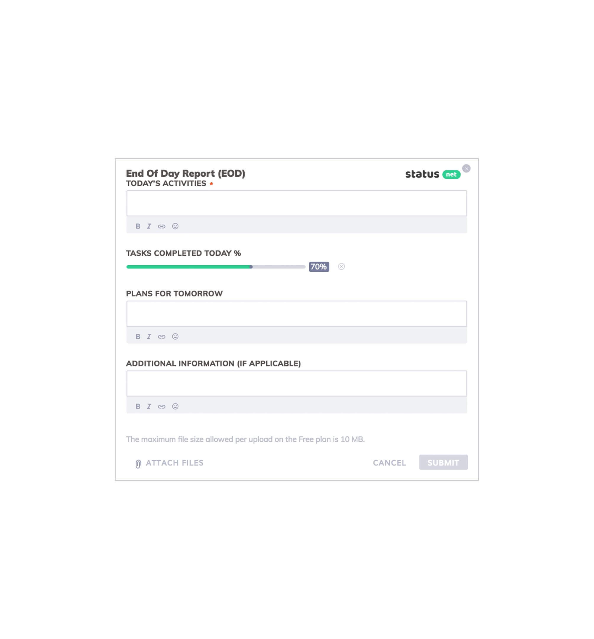 3 Best Examples: Daily Report Template | Free Templates Download inside Report Writing Template Free