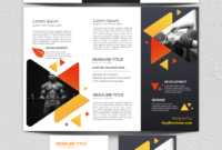 3 Panel Brochure Template Google Docs 2019   Graphic Design regarding Google Docs Travel Brochure Template