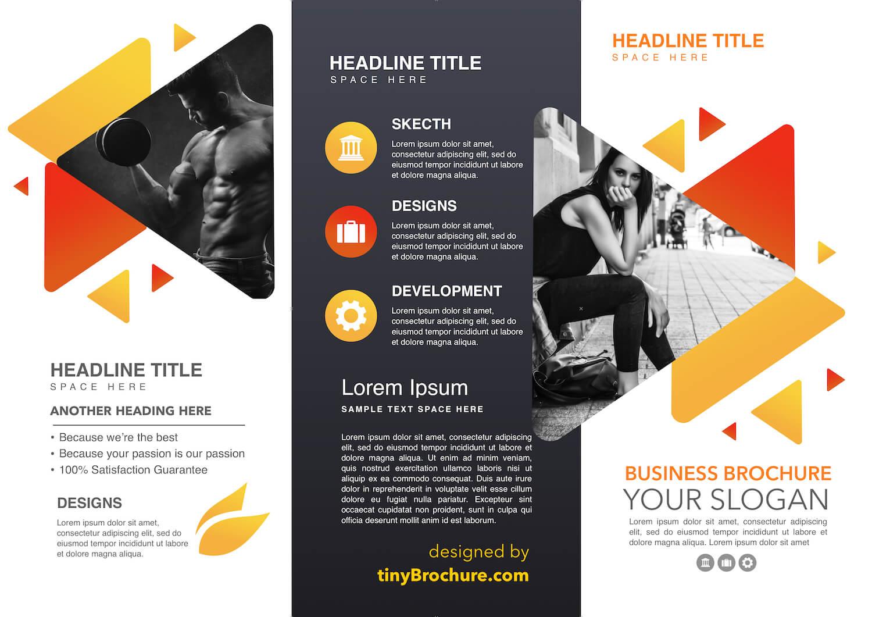 3 Panel Brochure Template Google Docs Free intended for Three Panel Brochure Template