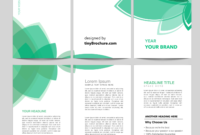 3 Panel Brochure Template Word Format Free Download with Free Brochure Template Downloads