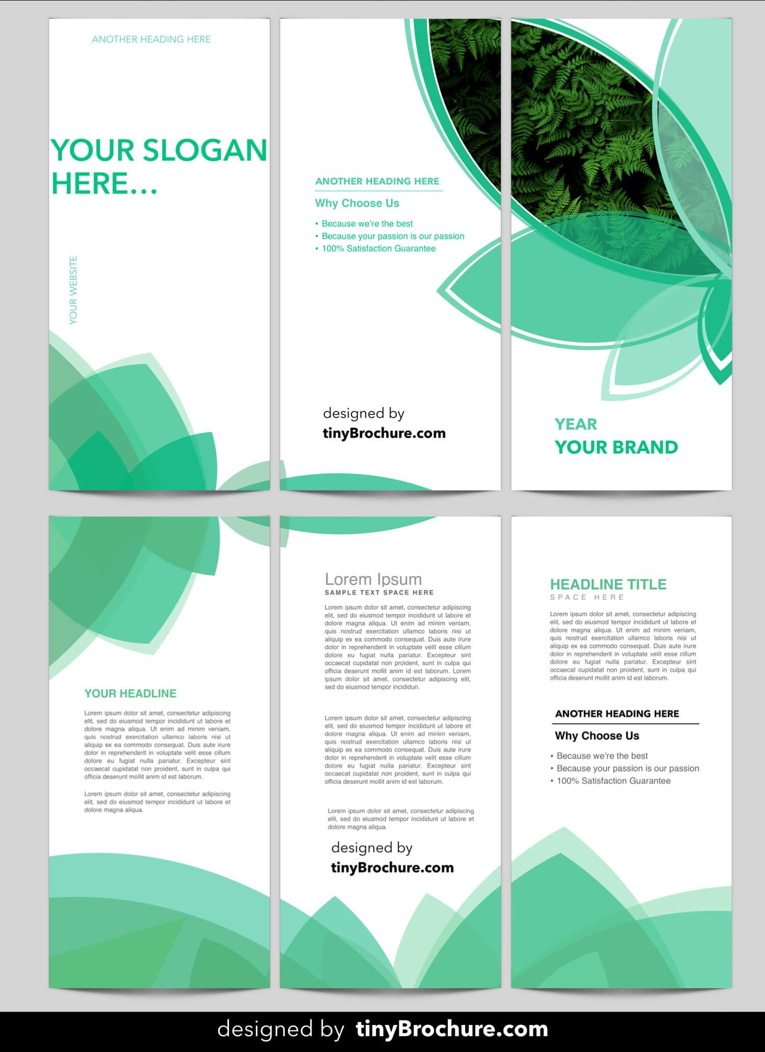 3 Panel Brochure Template Word Format Free Download With Regard To Three Panel Brochure Template