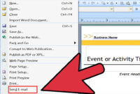 3 Ways To Create A Mail Merge In Publisher – Wikihow pertaining to How To Create A Mail Merge Template In Word 2010