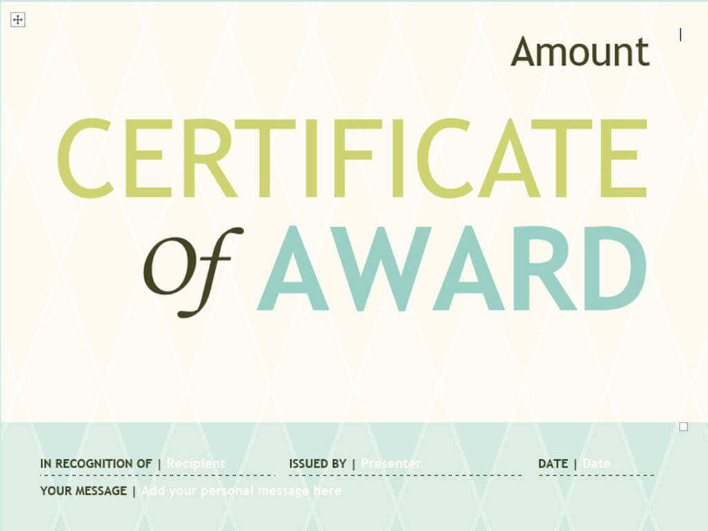 3 Ways To Make Your Own Printable Certificate - Wikihow pertaining to Borderless Certificate Templates